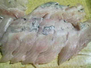 本日の晩ご飯のおかずの写真 三浦大根の葉の炊き込みご飯、神奈川の長井産太刀魚の刺身、三浦大根のあんかけなど