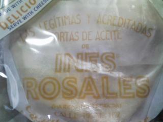 おやつ 宝商事輸入 スペイン イネスロサレス セビリアオレンジ トルタス を食べる