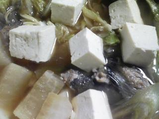 本日の晩ご飯のおかずの写真 北海道産ニシンの塩焼き、メジナ出汁の野菜鍋など
