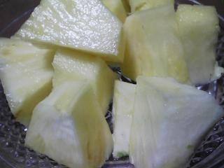 デザート チキータのパイナップル(八百屋さん版)