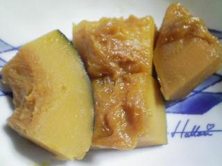 本日の朝ご飯の写真 七草粥モドキ、煮干し出汁の味噌汁など