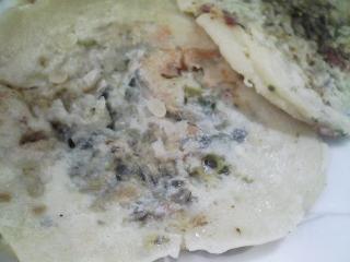 本日のお昼ご飯のおかずの写真 和歌山産鯨の醤油漬け焼きなど